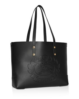 e24e735b708d ... Burberry - Small Embossed Crest Leather Tote
