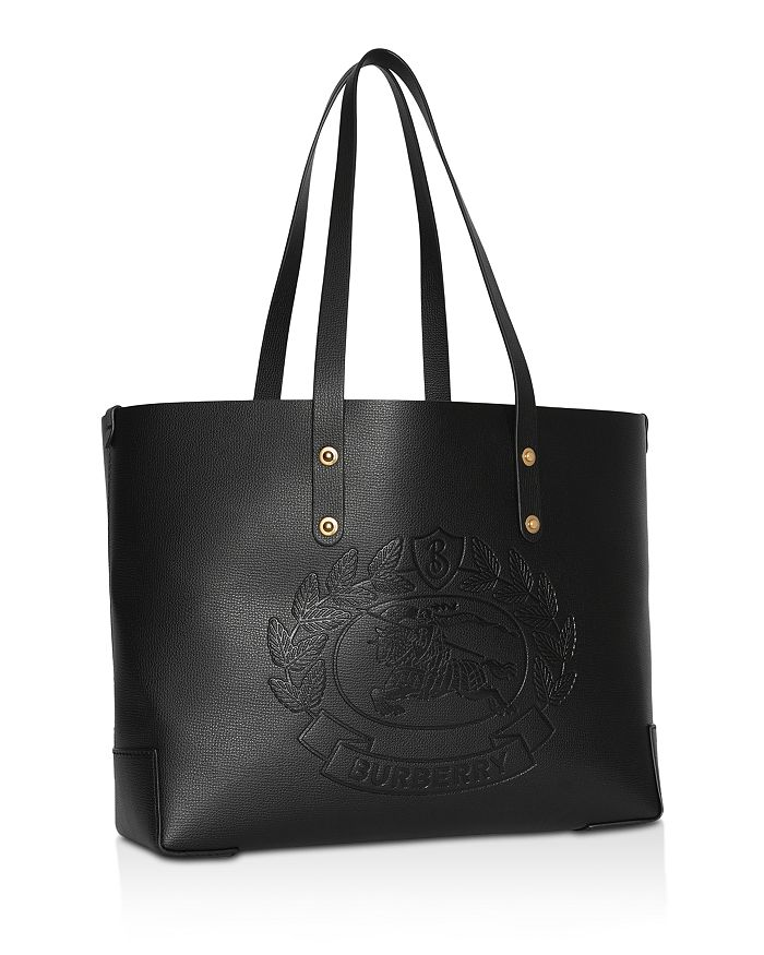 6d9ecef56109 Burberry - Small Embossed Crest Leather Tote