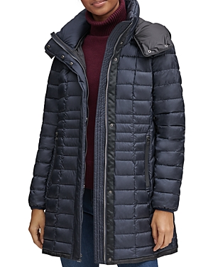 Marc New York Marble Packable Hooded Puffer Coat