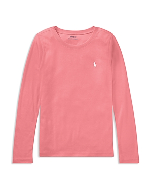 Polo Ralph Lauren Girls' Long-Sleeve Tee - Big Kid