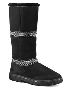 UGG® - Women's Original Sundance Round Toe Suede & Sheepskin Tall Boots