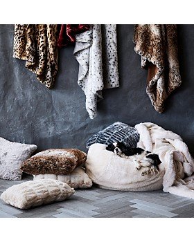 Hudson Park Collection - Sculpted Faux Fur Collection - 100% Exclusive