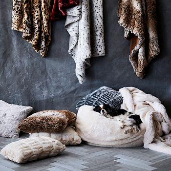 Hudson Park Collection - Textured Faux Fur Collection - 100% Exclusive