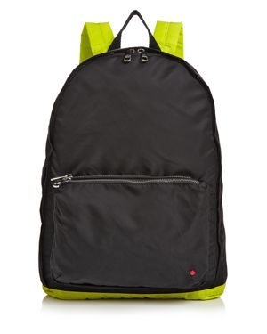 STATE Lorimer Neon Trim Backpack in Black Multi/Silver