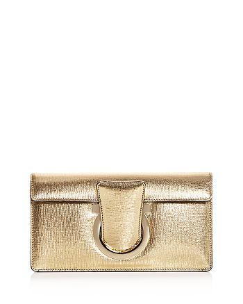 Salvatore Ferragamo - Thalia Small Leather Shoulder Bag