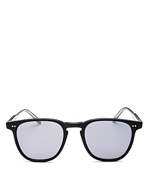 Garrett Leight Men's Brooks Mirrored Square Sunglasses, 47mm - 100% Exclusive