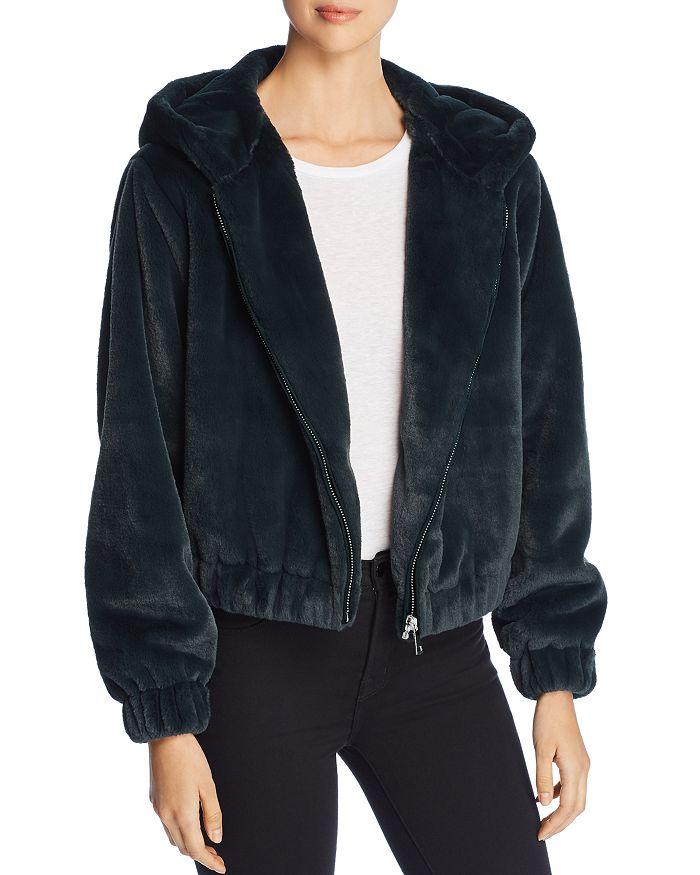 Bagatelle - Hooded Faux-Fur Jacket