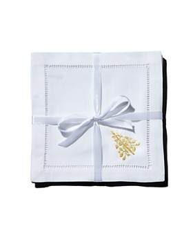 Henry Handwork - Mod Tree Cocktail Napkins, Set of 4