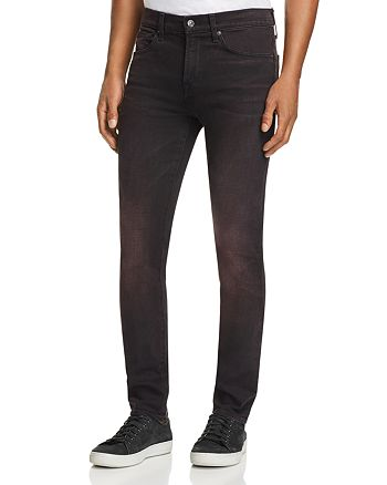 7 For All Mankind - Paxtyn Skinny Fit Jeans in Lust Black