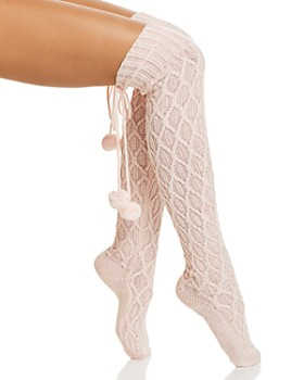 UGG® - Sparkle Cable Knit Socks