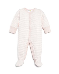 Bloomie's - Girls' Striped Footie - Baby