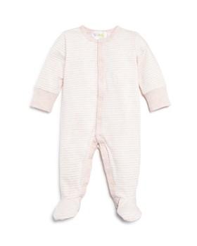 Bloomie's - Girls' Striped Footie - Baby