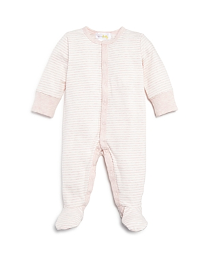 Bloomie's Girls' Striped Footie - Baby