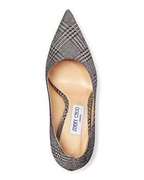 Jimmy Choo - Women's Love 100 Pointed Toe Checkered Pumps