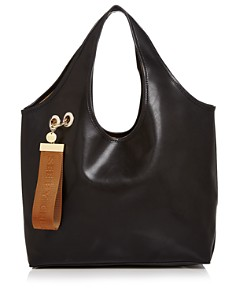 See by Chloé - Jay Large Logo Tag Leather Tote