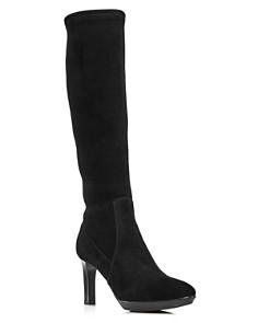 Aquatalia - Women's Rhumba Tall Suede High-Heel Boots