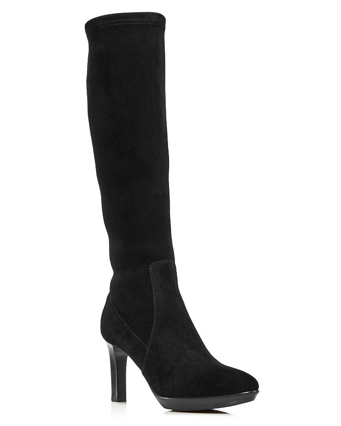 Aquatalia - Women's Rhumba Tall Suede High-Heel Boots