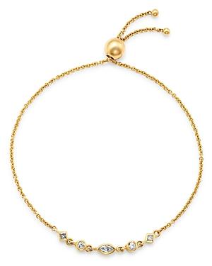 Zoe Chicco 14K Yellow Gold Mixed Diamond Bolo Bracelet-Jewelry & Accessories