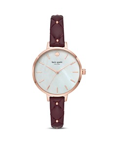 kate spade new york - Metro Mother-of-Pearl Watch, 34mm