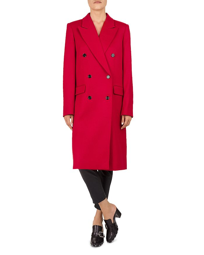 The Kooples - Tailored Double-Breasted Coat