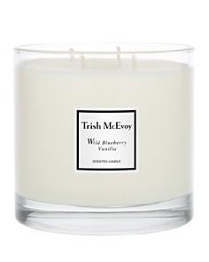 Trish McEvoy - Limited Edition Luxury Wild Blueberry Vanilla Scented Candle
