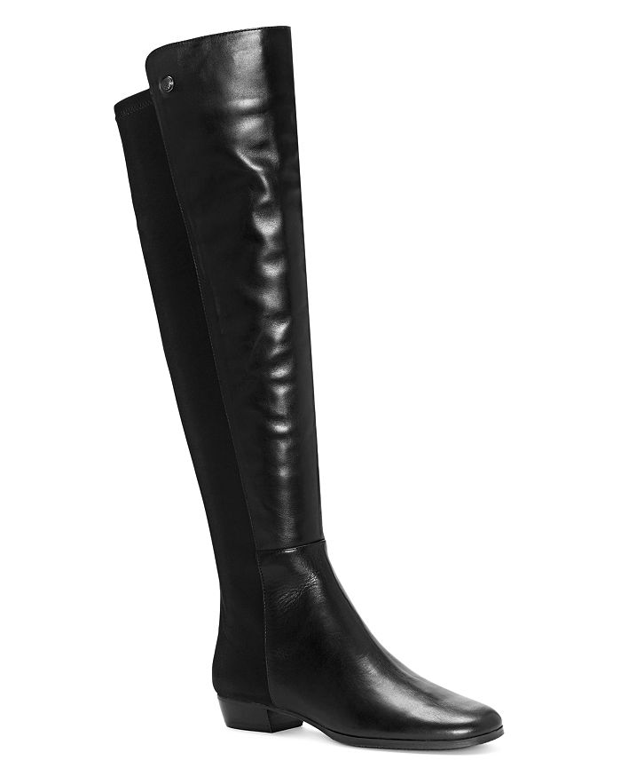 dd3681ddc668 VINCE CAMUTO - Women s Karita Leather Over-The-Knee Boots
