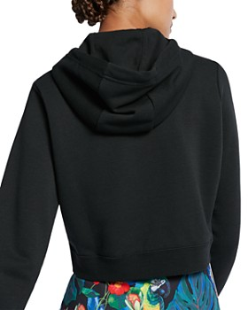 23e4c0517d Nike - Rally Cropped Hooded Sweatshirt Nike - Rally Cropped Hooded  Sweatshirt