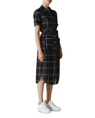 Montana Check Shirt Dress by Whistles