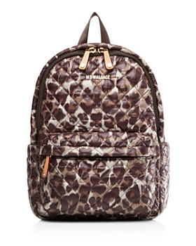 MZ WALLACE - Metro Small Leopard Backpack