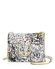 Salvatore Ferragamo - Thalia Small Embellished Floral Crossbody