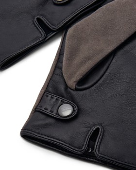 Ted Baker - Priced Suede & Leather Gloves