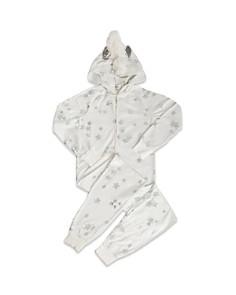 PJ Salvage - Girls' Star-Print Unicorn Pajamas - Little Kid