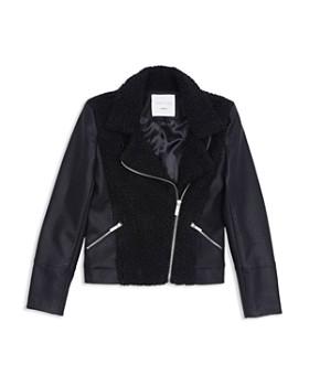 Habitual - Girls' Kiera Motorcycle Jacket - Big Kid