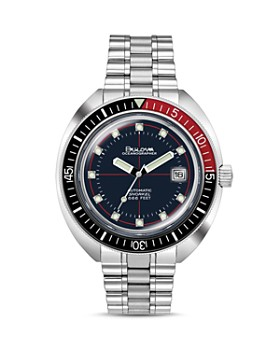 Bulova - Devil Diver Watch, 44mm