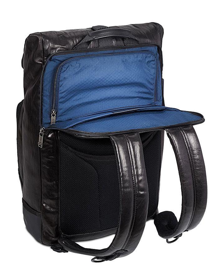 d020f86d04b Tumi - Alpha Bravo London Roll-Top Leather Backpack
