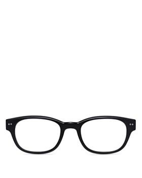 Look Optic - Unisex Bond Rectangular Blue Light Glasses, 50mm