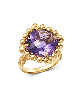 Bloomingdale's - Amethyst Cocktail Ring in 14K Yellow Gold - 100% Exclusive
