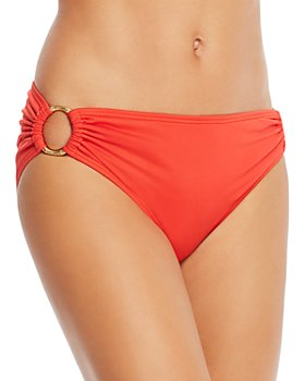 Carmen Marc Valvo - Side Ring Bikini Bottom