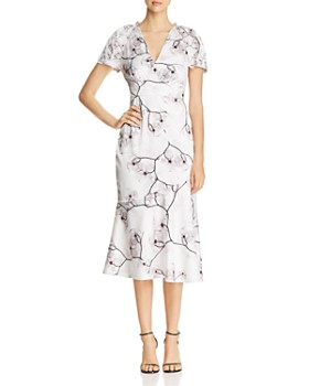 Elie Tahari - Niki Floral Midi Dress
