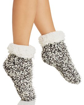 Cejoli - Cuffed Knit Slipper Socks