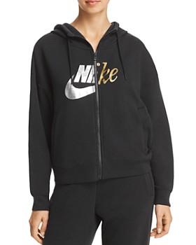 Nike - Rally Metallic Logo Hoodie