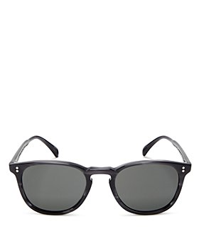 Oliver Peoples - Women's Finley Esq Polarized Round Sunglasses, 51mm