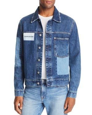 Calvin Klein Jeans Patchwork Trucker Jacket