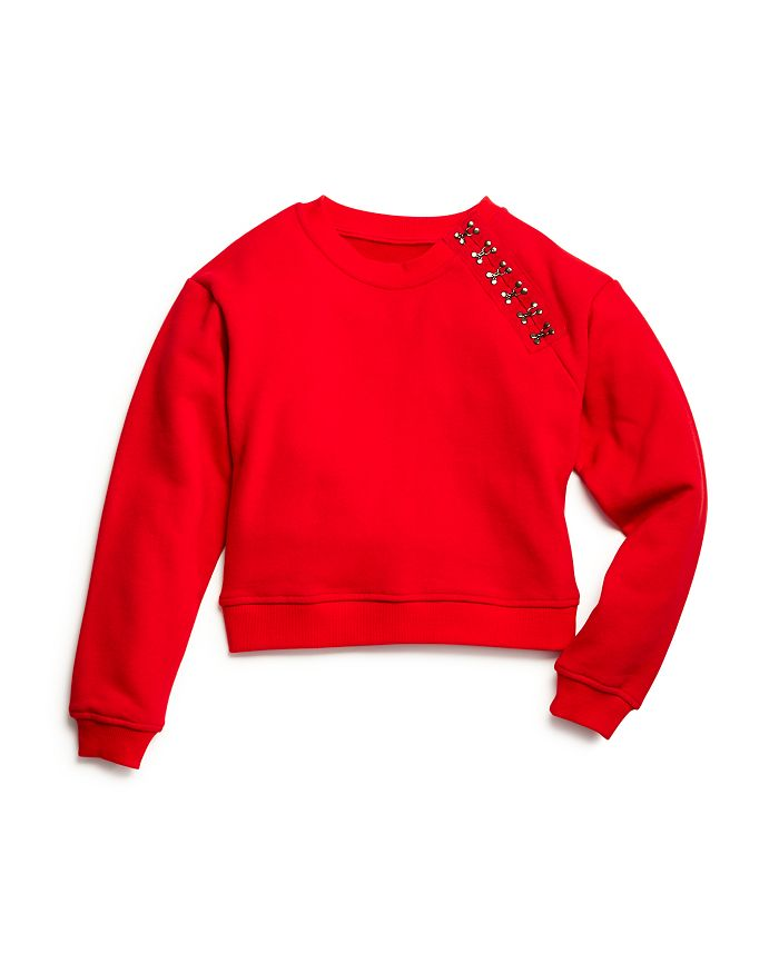 BLANKNYC - Girls' Fleece Hook-and-Eye Sweatshirt - Big Kid