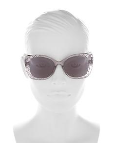Bottega Veneta - Women's Butterfly Sunglasses, 53mm
