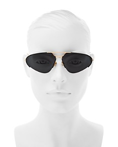 Dior - Women's Stellarie Brow Bar Square Sunglasses, 62mm