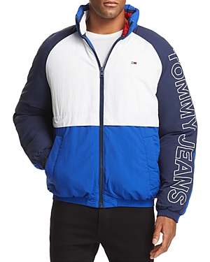 Tommy Jeans Classics Retro Color-Block Puffer Jacket