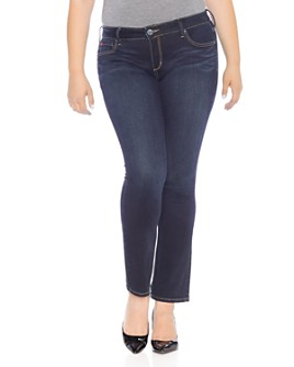 SLINK Jeans Plus - Straight-Leg Jeans in Summer