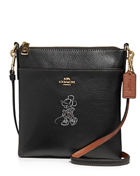 COACH - Disney x Coach Minnie Mouse Motif Leather Crossbody