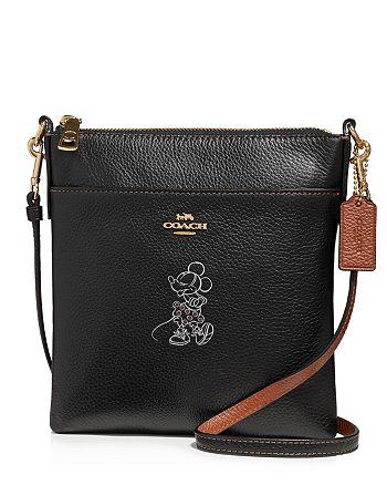 41ff50b2c COACH Disney x Coach Minnie Mouse Motif Leather Crossbody ...